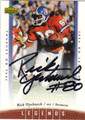 RICK UPCHURCH AUTOGRAPHED FOOTBALL CARD #52612G