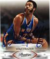 WALT FRAZIER AUTOGRAPHED BASKETBALL CARD #52712A