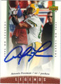 ANTONIO FREEMAN AUTOGRAPHED FOOTBALL CARD #52712E