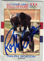 RALPH BOSTON AUTOGRAPHED OLYMPIC CARD #52713A