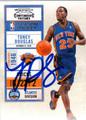 TONEY DOUGLAS AUTOGRAPHED BASKETBALL CARD #52812C
