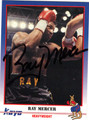 RAY MERCER AUTOGRAPHED BOXING CARD #53012E