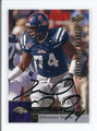 Michael Oher AUTOGRAPHED ROOKIE CARD #5449