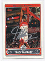 TRACY McGRADY AUTOGRAPHED CARD #5472