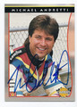MICHAEL ANDRETTI AUTOGRAPHED CARD #5614