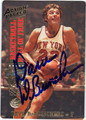 DAVE DeBUSSCHERE AUTOGRAPHED BASKETBALL CARD #60112N