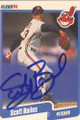 Scott Bailes Autographed Baseball Card 597
