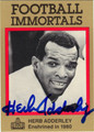 HERB ADDERLEY AUTOGRAPHED FOOTBALL CARD #60112A