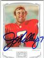 JOHN ELWAY DENVER BRIONCOS AUTOGRAPHED FOOTBALL CARD #60213J