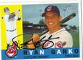 RYAN GARKO AUTOGRAPHED BASEBALL CARD #60611D