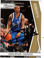 CARON BUTLER AUTOGRAPHED & NUMBERED BASKETBALL CARD #60611U