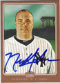 NICK JOHNSON NEW YORK YANKEES AUTOGRAPHED BASEBALL CARD #60813A