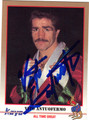 VITO ANTUOFERMO AUTOGRAPHED BOXING CARD #61212F
