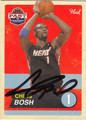 CHRIS BOSH AUTOGRAPHED BASKETBALL CARD #61513J
