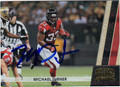 MICHAEL TURNER ATLANTA FALCONS AUTOGRAPHED & NUMBERED FOOTBALL CARD #61513i