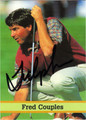 FRED COUPLES AUTOGRAPHED GOLF CARD #61812C