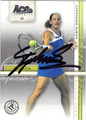 STEPHANIE DUBOIS AUTOGRAPHED TENNIS CARD #61812E