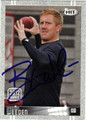 BRANDON WEEDEN AUTOGRAPHED ROOKIE FOOTBALL CARD #62112F