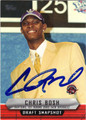 CHRIS BOSH AUTOGRAPHED BASKETBALL CARD #62212J