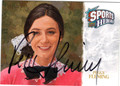 PEGGY FLEMING AUTOGRAPHED CARD #62312A