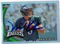 MIKE KAFKA AUTOGRAPHED ROOKIE FOOTBALL CARD #62511HH