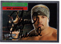 CHAVO GUERRERO AUTOGRAPHED WRESTLING CARD #62511C