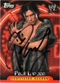 PAUL LONDON AUTOGRAPHED WRESTLING CARD #62511U