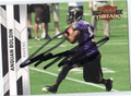 ANQUAN BOLDIN AUTOGRAPHED FOOTBALL CARD #62711Z
