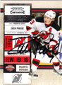 ZACH PARISE AUTOGRAPHED HOCKEY CARD #62812L