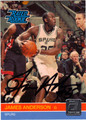 JAMES ANDERSON AUTOGRAPHED ROOKIE BASKETBALL CARD #62812M