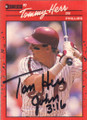 Tommy Herr Autographed Baseball Card 632