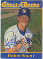 ROBIN YOUNT AUTOGRAPHED BASEBALL CARD #62911H