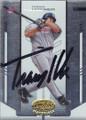 Travis Hafner Autographed Baseball Card 644