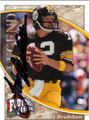 TERRY BRADSHAW AUTOGRAPHED FOOTBALL CARD #62911N