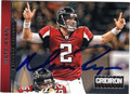 MATT RYAN ATLANTA FALCONS AUTOGRAPHED FOOTBALL CARD #70413E
