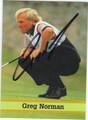 GREG NORMAN AUTOGRAPHED GOLF CARD #70912D