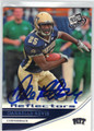 DARRELLE REVIS UNIVERSITY OF PITTSBURGH AUTOGRAPHED ROOKIE FOOTBALL CARD #71113F