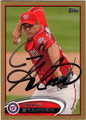 CRAIG STAMMEN WASHINGTON NATIONALS AUTOGRAPHED BASEBALL CARD #71013F