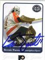 BERNIE PARENT PHILADELPHIA FLYERS AUTOGRAPHED HOCKEY CARD #70913F
