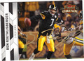 BEN ROETHLISBERGER AUTOGRAPHED FOOTBALL CARD #71311L