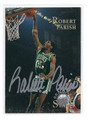 ROBERT PARISH BOSTON CELTICS AUTOGRAPHED CARD #71410L