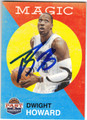 DWIGHT HOWARD ORLANDO MAGIC AUTOGRAPHED BASKETBALL CARD #71313D