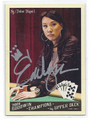 EVELYN NG AUTOGRAPHED CARD #71410E