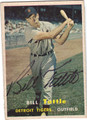 BILL TUTTLE AUTOGRAPHED VINTAGE BASEBALL CARD #71411B