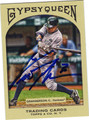CURTIS GRANDERSON AUTOGRAPHED BASEBALL CARD #71411i