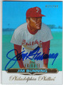 JIM BUNNING PHILADELPHIA PHILLIES AUTOGRAPHED & NUMBERED BASEBALL CARD #71413H