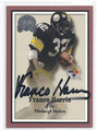 FRANCO HARRIS AUTOGRAPHED CARD #71510B
