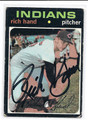 RICH HAND AUTOGRAPHED CARD #71510F