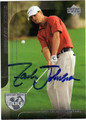 ZACH JOHNSON AUTOGRAPHED GOLF CARD #71711C