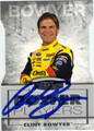 CLINT BOWYER AUTOGRAPHED NASCAR CARD #71511M